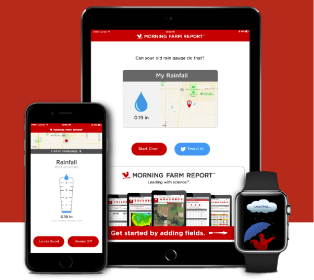 agriculture apps - pocket rain gage
